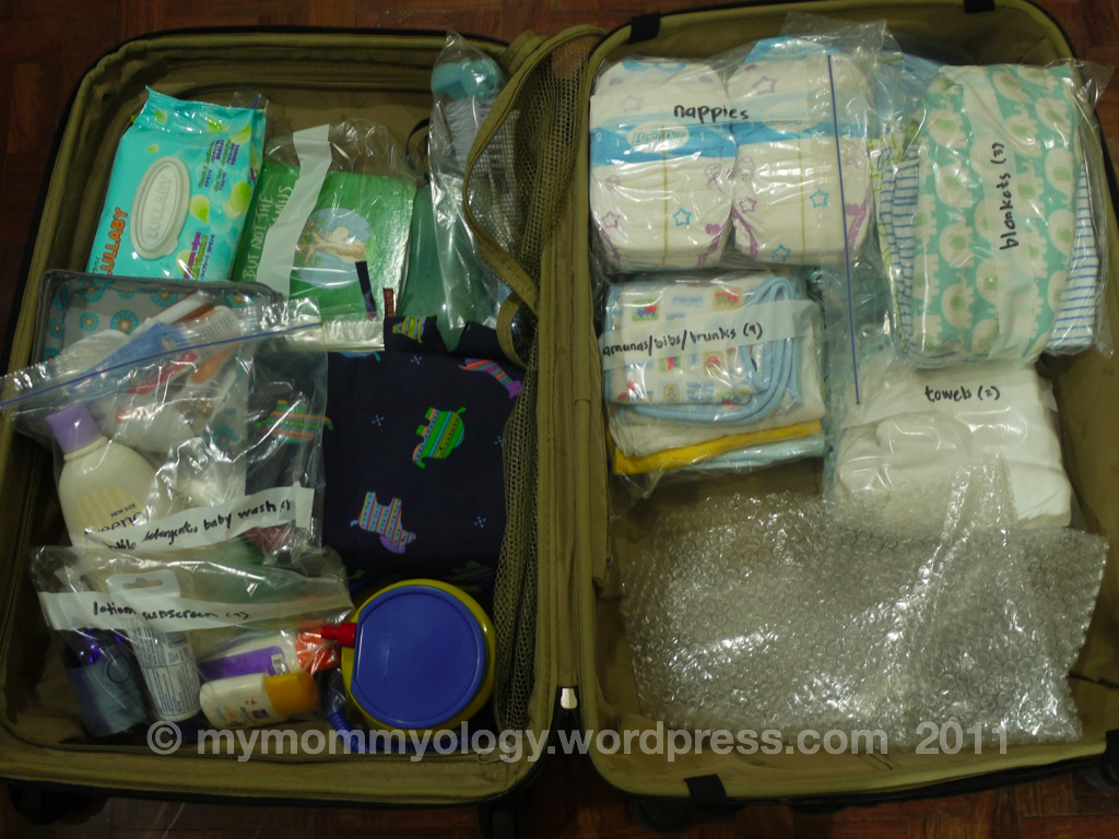 My Mommyology Packing