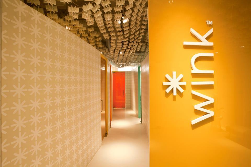 The beautiful hallway.  Photo courtesy of Wink Studio