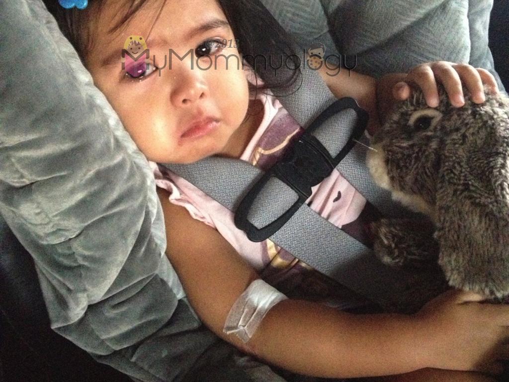 My poor baby! :(