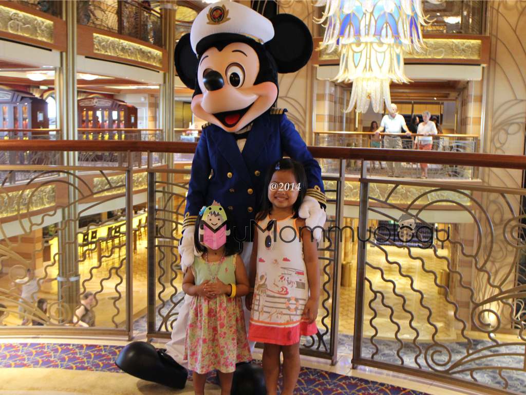 They were happy to be with Captain Mickey!