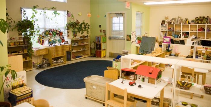 Every Montessori Classroom looks the same.
