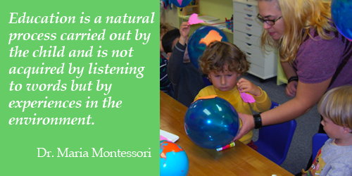 Photo Credit:  Maria Montessori